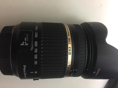 Desconto Lente Tamron Dslr Sony (a-mount) 18-270mm F/3.5-6.3