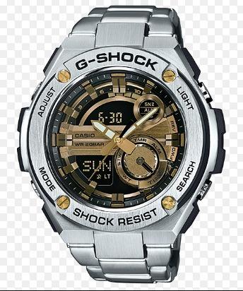 Relogio Casio G-shock Gst-210d-9adr G-steel Em 12x S/ Juros