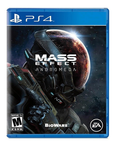 Mass Effect Andromeda - Ps4 - Novo - Mídia Física