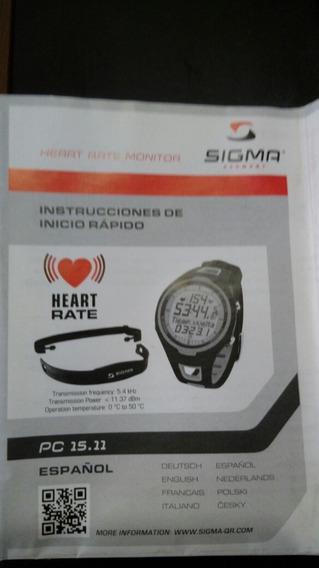 Reloj Sigma Pc 15.11
