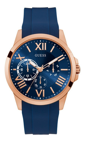 Reloj Guess Orbit Caballero Gw0012g3 Azul