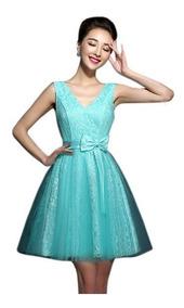 Vestido Festa Debutante 15 Anos Tiffany Com Renda Sku 096