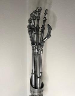 Brazo De Terminator De 25 Cm Replica