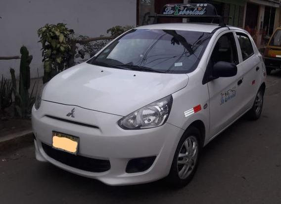 Auto Mitsubishi Mirage Taxi