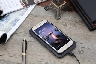 Carregador Sem Fio iPhone 8 .x, Xr, Xs S10 S9 S8 S7