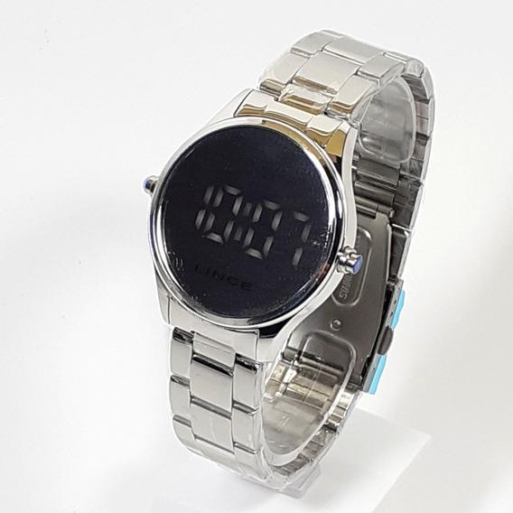 Relógio Feminino Social Mostrador Digital Lince Mdm4617l