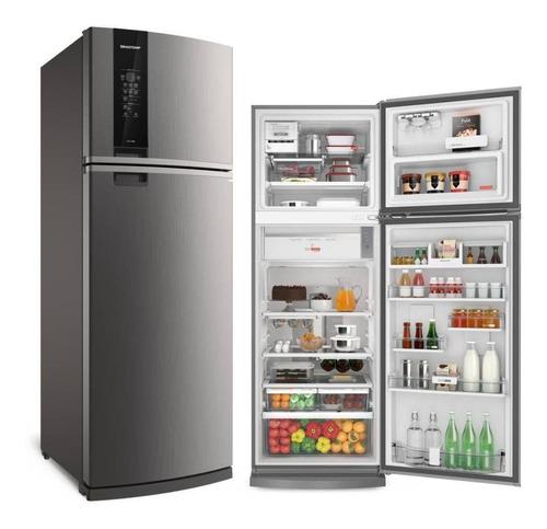 Geladeira/refrigerador 478 Litros 2 Portas Inox - Brastemp - 220v - Brm59akbna