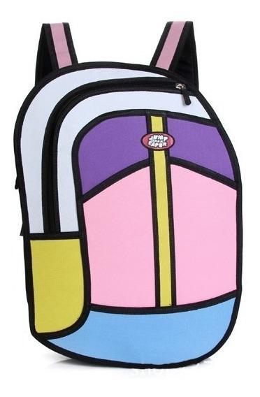 Mochila Bolso Diseño 2d 3d Cartoonbag Backpack Importada 9