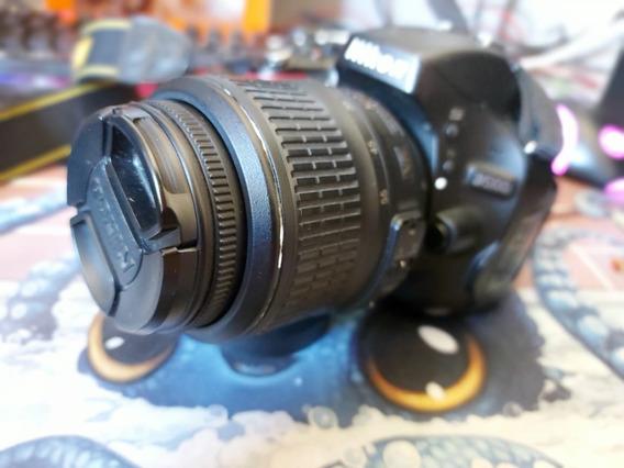 Câmera Nikkon D5100 + Lente 18-55 + Case De Transporte