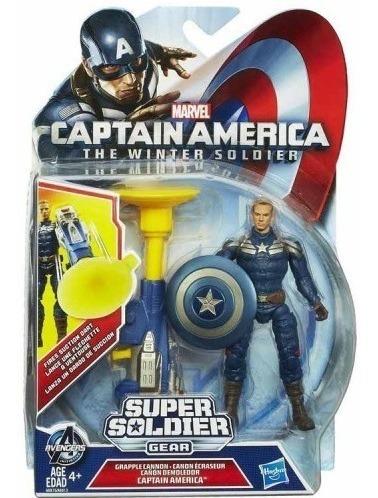 Capitán América Muñeco Super Soldier Gear Hasbro Original