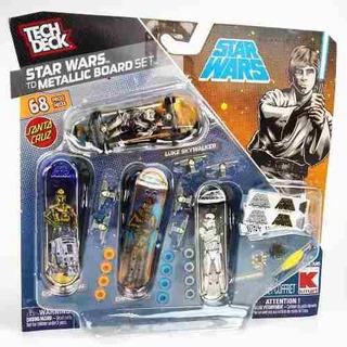 Tech Deck Cuatro Skate Boards Tabla Y Accesorios Star Wars