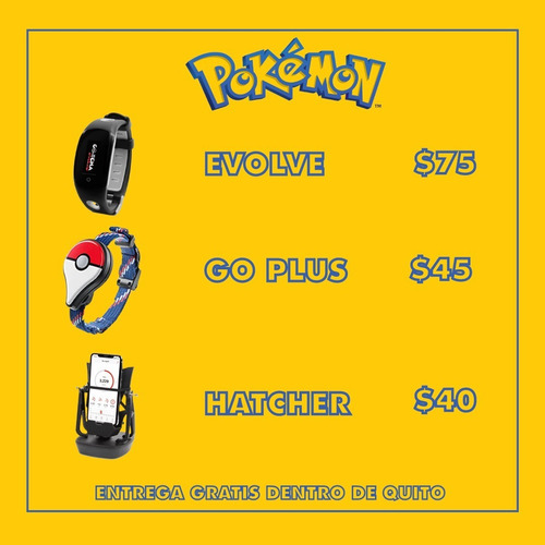 Pokemon Go Go-tcha Evolve. Pokemon Go Plus
