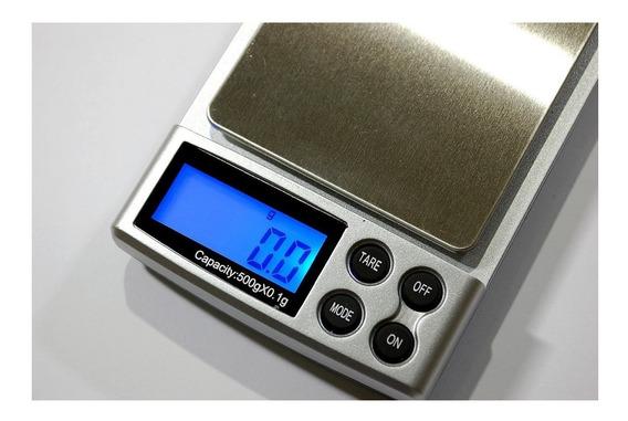 Bascula Gramera Digital 500grs - 0.1gr Incluye Envío Xto