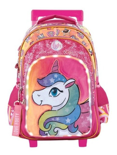 Mochila Carro Unicornio You Are C/ Luz Led, 18