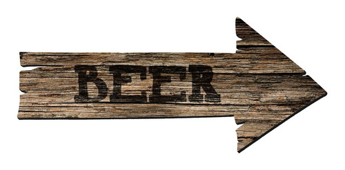 Imagen 1 de 3 de Flecha Cerveza Beer Bar - Muy Liviana 42cm