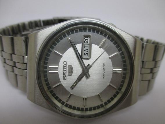 Reloj De Pulsera Seiko 5 Hecho En Japón Vintage (1976-1988)