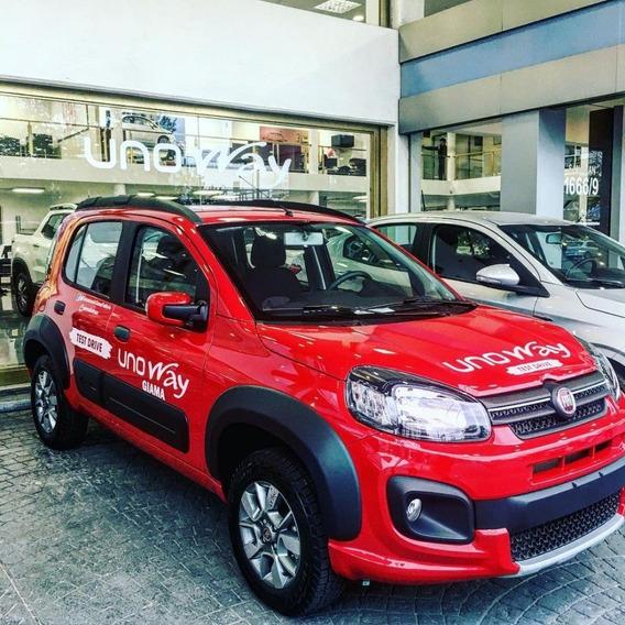 Fiat Uno Way 0km Anticipo $87.000 Cuotas 0% Plan Gobiern A-