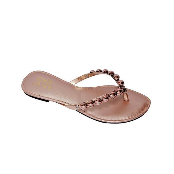 Sapato Rasteira Rasteirinha Sapatilha Feminina Preto Dourado