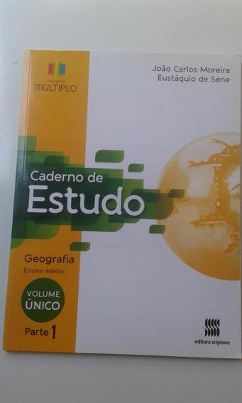 Livro Geografia Ensino Médio Caderno De Estudo Parte 1 Múlti