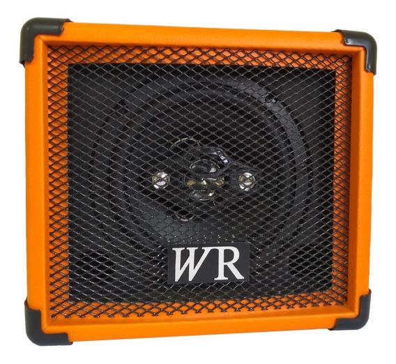 Caixa De Som Amplificada Bluet/mic/guitar/violão 6