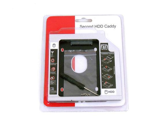 Adaptador Caddy Segundo Hd Ssd Sata P/ Notebook Drive 12,7mm