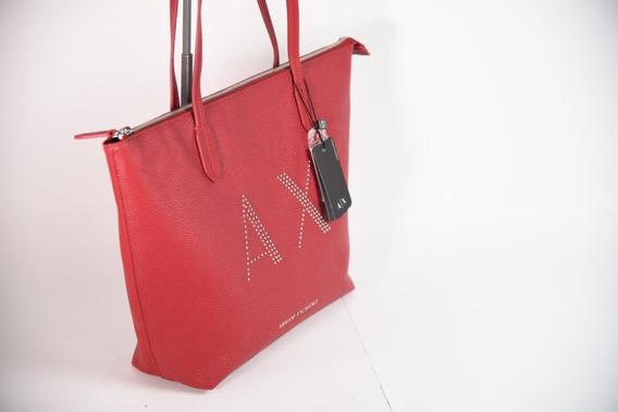 Bolsa Armani Exchange Piel Premium Red 2020