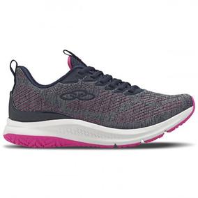 Tenis Olympikus 591 Progress Marinho Pink Calçados Bola7