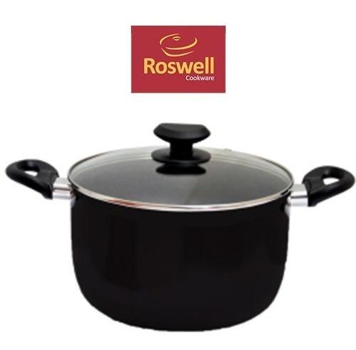 Cacerola N°26 Roswell Classic Black Teflon Antiadherente