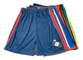 Kit 10 Shorts Masculino Dry Fit Academia Esportes 36 Ao 46