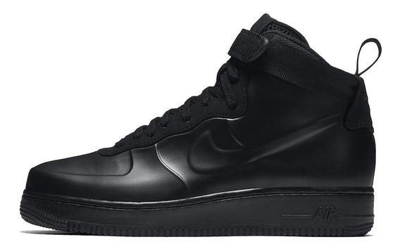 Tênis Nike Air Force 1 Foamposite Black, Pronta Entrega.