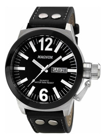 Relógio Magnum Soviet Original Preto Masculino Ma31533t