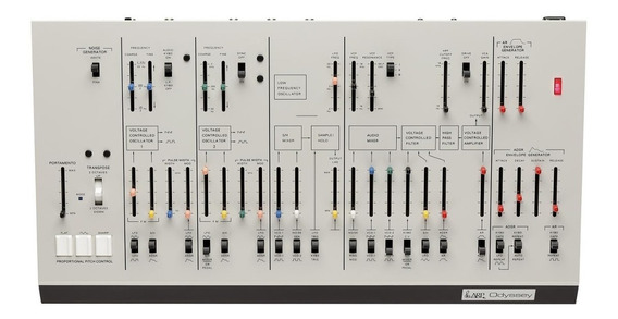 Módulo Sintetizador Analogico Korg Arp Odyssey Module M-1