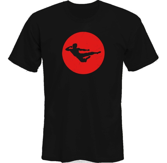 Remeras Bruce Lee Dragon Rojo *mr Korneforos*