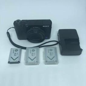 Câmera Sony Rx100 V 5 M5 Mark Com 3 Baterias E Carregador
