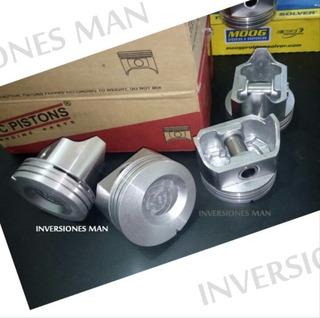 Juego 6 Pistones Nuevos Ford 300 F100 F150 F350 040 030 Pc