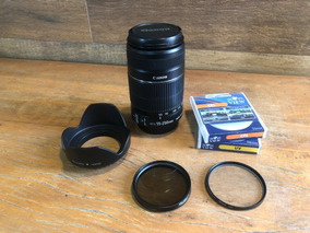 Lente Canon Zoom 55-250mm F/4-5.6 + Brindes