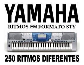 Ritmos P/ Teclado Yamaha - 250 Ritmos Arrocha, Forró, Sert.