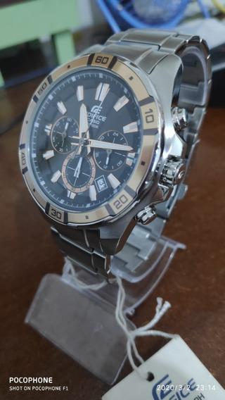 Relógio Casio Edifice Masculino Cronógrafo Efr-534d-1a9vdf
