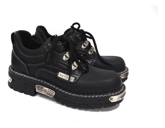 Zapato Bota Hombre Motokero Oxigeno Originales Cuero