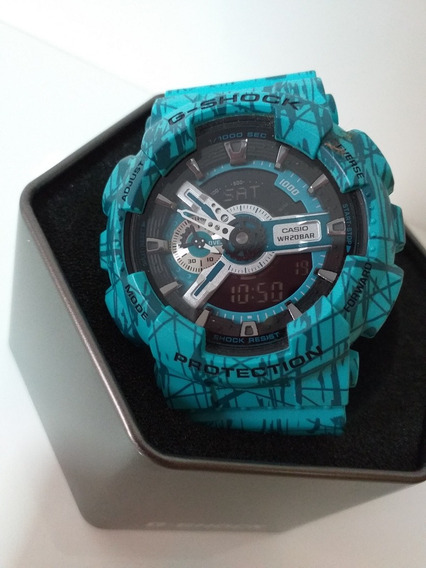 Relógio Casio G-shock Ga-110sl-3adr