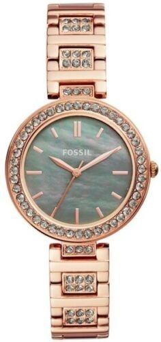Fossil Reloj Para Dama Bq3422 Rosegold Con Caja