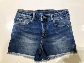 Lindo Shorts Jeans Da Zara Girls! Tamanho 10! Promoção!!!