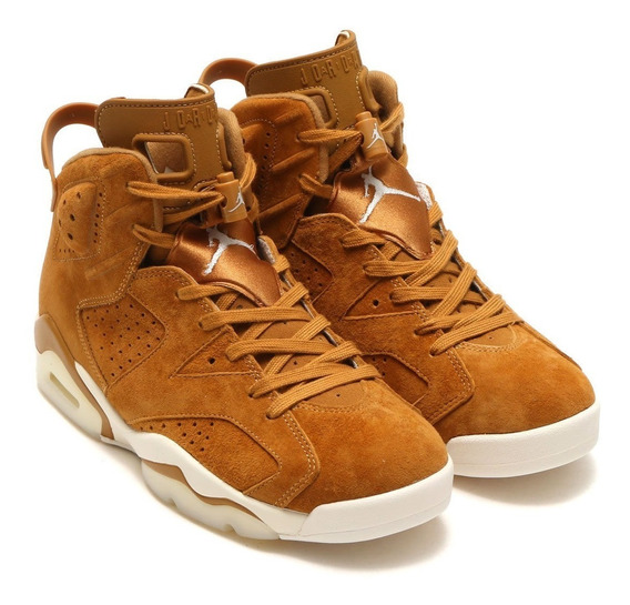 Zapatillas Air Jordan Vi 6 Wheat. A Pedido Usa