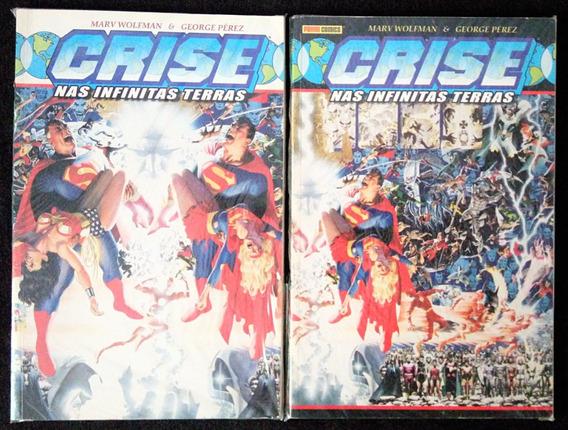 Crise Nas Infinitas Terras Em 2 Volumes Panini