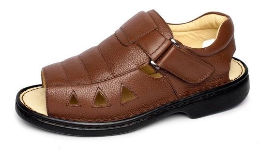 Sandália Antstres Diabético Barato Palmilha Gel+calçadeira