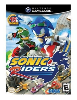 Sonic Riders Usado Garantia Gamecube Ngc Vdgmrs