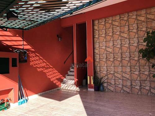 Casa Com 2 Dormitórios À Venda Por R$ 585.000 - Parque Assunção - Taboão Da Serra/sp - Ca0157