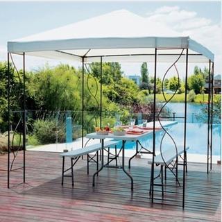 Pergola Toldo Gazebo Canopy Armable Elegante Envio Gratis