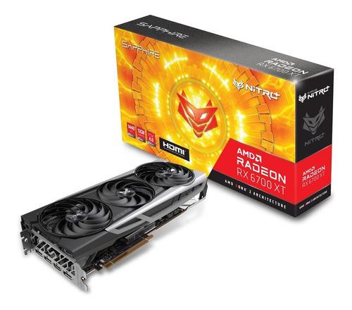 Imagen 1 de 9 de Placa Video Sapphire Radeon Rx 6700 Xt Nitro Gaming 12gb Oc
