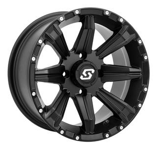 Rin Moto Atv Utv Sedona Sparx 15x7 4/137 5+2 Negro